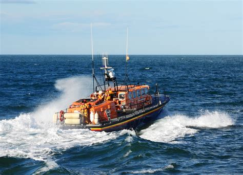 Yacht Lifeboat by Wicklow Lifeboat Station Rnli