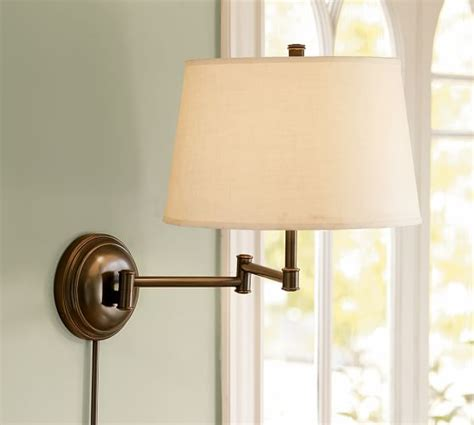 pottery barn l replacement parts chelsea swing arm sconce pottery barn