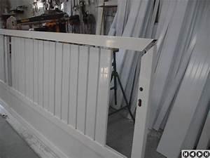 Portail Alu En Kit : exemple d 39 assemblage d 39 un portail cadre alu 72x40 ~ Edinachiropracticcenter.com Idées de Décoration