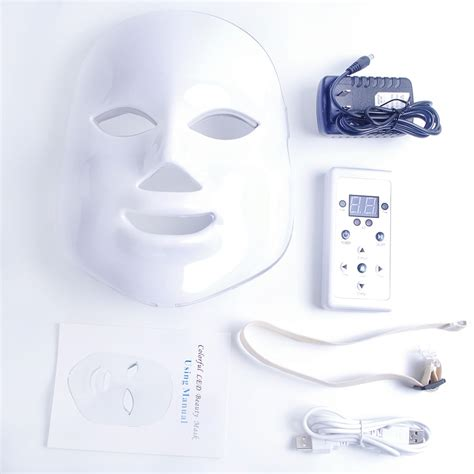 7 Colors Beauty Therapy Photon LED Facial Mask Light Skin