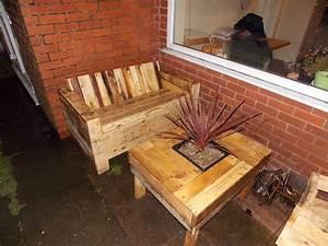 Palette Salon De Jardin : 52 id es pour fabriquer votre meuble de jardin en palette ~ Nature-et-papiers.com Idées de Décoration