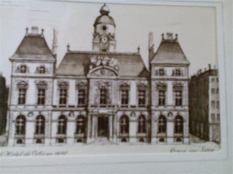 bureau de change lyon hotel de ville troc echange gravure sur soie hotel de ville de lyon sur