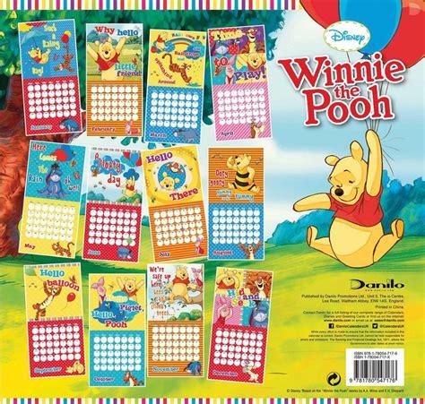 winnie pooh calendarios