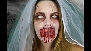 Braut Make Up Selber Machen : halloween horror braut makeup tutorial paula s soul youtube ~ Udekor.club Haus und Dekorationen