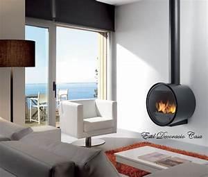 Poele Suspendu Design : cheminee suspendue murale prix ~ Melissatoandfro.com Idées de Décoration