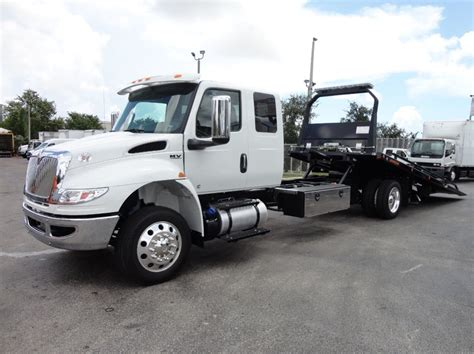 2019 New International Mv607 22ft Jerrdan Rollback Tow