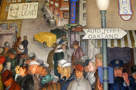 san francisco murals city life located out the inner
