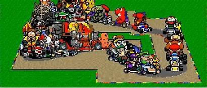 Mario Kart Nintendo Character Race Down Player
