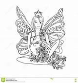 Coloring Pregnant Pregnancy Adult Fairy Lady Zentangle Bird Vector sketch template