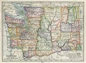 Map of Washington, Washington Maps