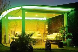 Eclairage Exterieur Jardin : eclairage jardin led multicolore ~ Melissatoandfro.com Idées de Décoration