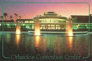 Orange, County, Convention, Center, Orlando, Florida, Usa