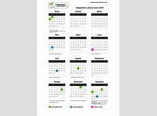 Calendario Laboral León 2019