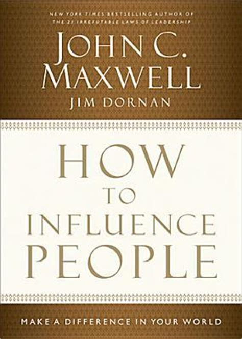 influence people   difference   world