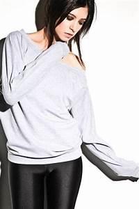Oversized Dolman Sweater - Off Shoulder Sweatshirt, Dolman ...