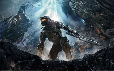 Halo Halo 4 Video Games Concept Art Wallpapers Hd