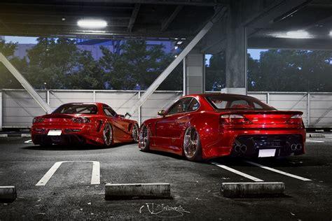 nissan silvia  mazda rx  tuning red car rx hd wallpaper