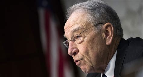 Grassley open to public testimony from Fusion GPS leaders