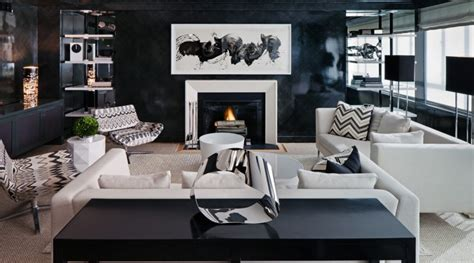 15 black inspirations for modern living rooms home decor