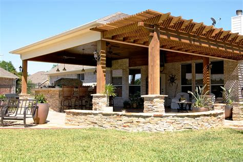 Home Patio Designs by Heritage Grand Cinco Ranch Outdoor Living Room
