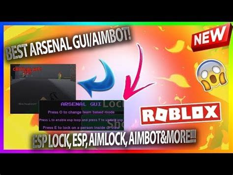 arsenal aimbot wall hack  script pastebin