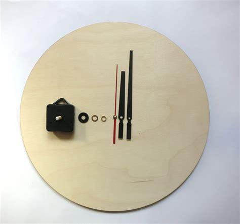 pdf diy wooden wall clock clock kit diy wall clock kit 16 40cm diy clock wood