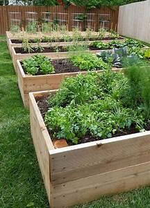 Garden, Boxes, Raised, Design, Ideas, 12