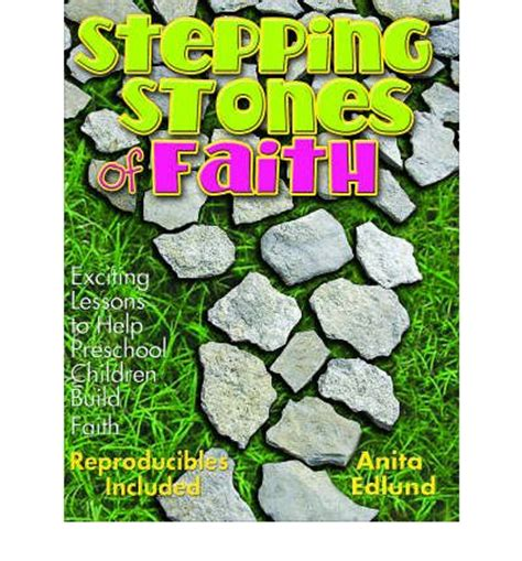 stepping stones christian preschool stepping stones of faith for preschoolers edlund 394