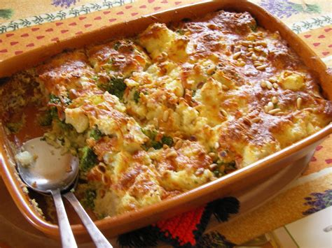 In kochendem… bild 3 von 3 blumenkohl überbacken. Aus dem Lameng: Blumenkohl-Brokkoli Auflauf