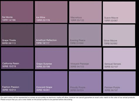 top 14 photos selection for purple paint colors