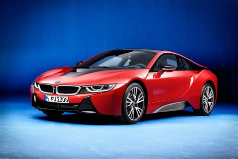 BMW i8 Protonic Red, special edition della supercar ibrida ...