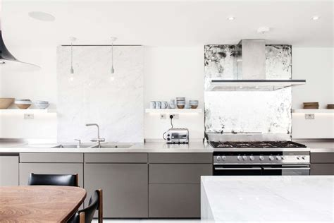 dualit toaster kitchen contemporary with grey kitchen