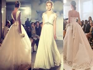 les plus belles photos de mariage les plus belles robes de mariée de la bridal fashion week 2015 closermag fr