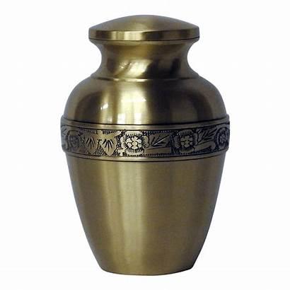 Cremation Urn Urns Safe Ashes Brass Passage