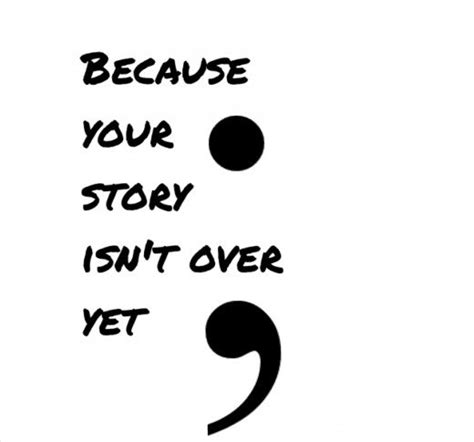 semicolon project  thoughts    means