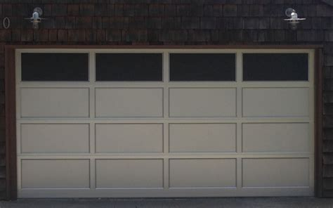 aluminum clear anodized  top row windows garage