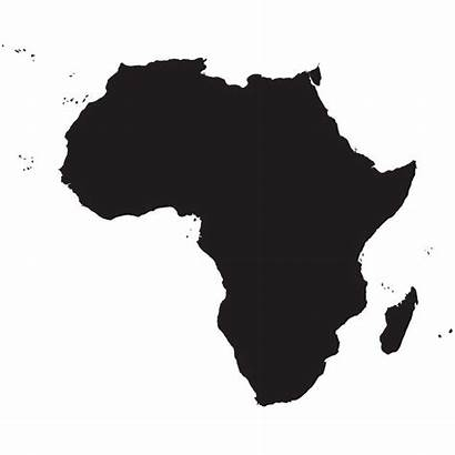 Africa Map Continent African Silhouette Clip Clipart