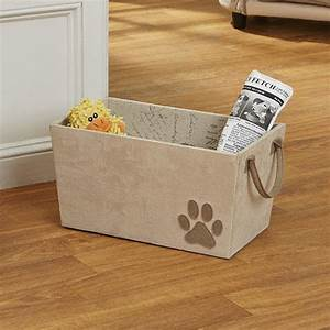 Dog toy basket in pet organizers for Dog toy basket