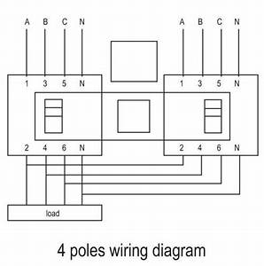 4 Poles Wiring Diagram