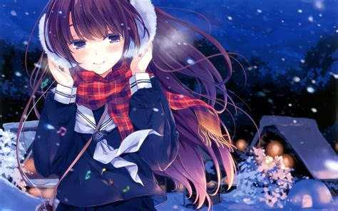 Anime Winter Wallpaper Hd - anime wallpapers hd