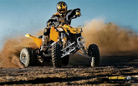 Can-am Ds 450 Atv Quad Offroad Motorbike Bike Dirtbike