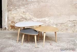 Table Gigogne Scandinave : diy table basse tripode gigogne ~ Teatrodelosmanantiales.com Idées de Décoration