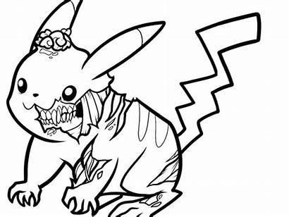 Coloring Pages Pokemon Pokeman Easy Printable Draw