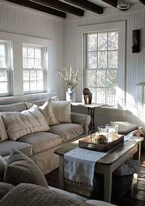 27 comfy farmhouse living room designs to steal digsdigs for Farmhouse style living room ideas