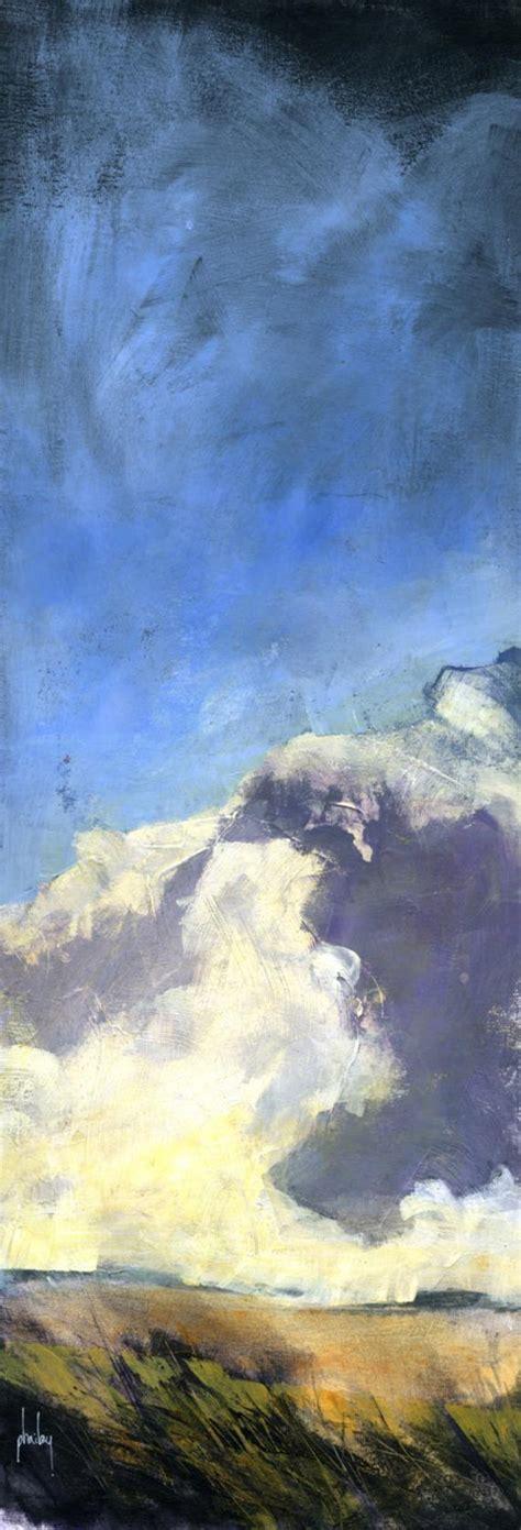 Semi Abstract Landscape Original Painting Winter Prospect
