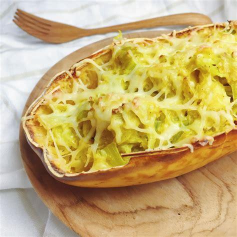 comment cuisiner courge spaghetti courge spaghetti farcie recette végétarienne et sans