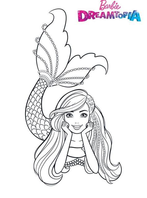 kids  funde malvorlage barbie dreamtopia barbie mermaid
