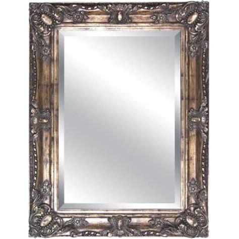 rectangular decorative framed mirror