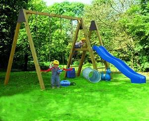 Balancoire Et Toboggan : balancoire toboggan enfant les cabanes de jardin abri ~ Melissatoandfro.com Idées de Décoration