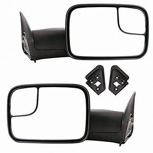 Yitamotor Towing Mirrors For 19942001 Dodge Ram 1500